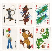 Collectable Advertising playing cards Brother Industries,by Nintendo.by Nintendo